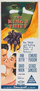 The King's Thief - 13 x 28 Movie Poster - Italian Style A