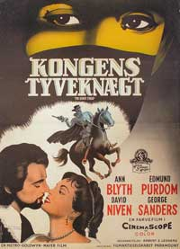 The King's Thief - 11 x 17 Movie Poster - Danish Style A