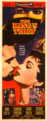 The King's Thief - 14 x 36 Movie Poster - Insert Style A