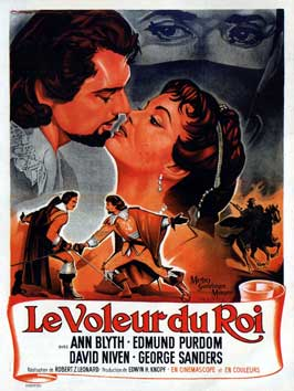 The King's Thief - 11 x 17 Movie Poster - French Style A