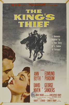The King's Thief - 11 x 17 Movie Poster - Style C