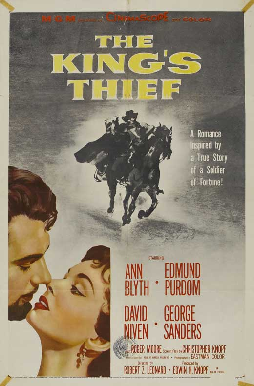 The King's Thief movie