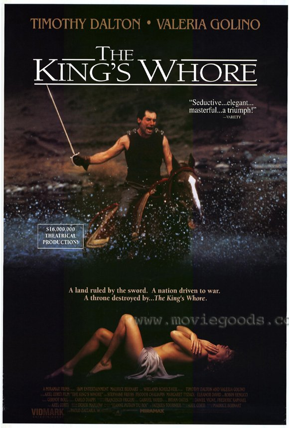 The King's Whore movie