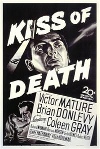 The Kiss of Death - 11 x 17 Movie Poster - Style A