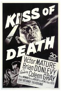 The Kiss of Death - 27 x 40 Movie Poster - Style A
