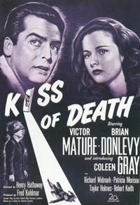 The Kiss of Death - 11 x 17 Movie Poster - Style B