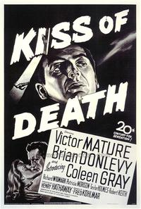The Kiss of Death - 43 x 62 Movie Poster - Bus Shelter Style A