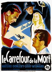 The Kiss of Death - 11 x 17 Movie Poster - French Style A