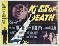 The Kiss of Death - 11 x 14 Poster UK Style B