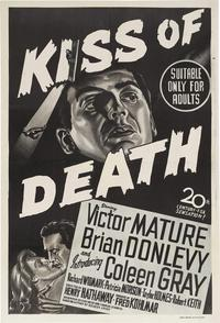 The Kiss of Death - 27 x 40 Movie Poster - Australian Style A