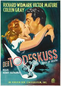 The Kiss of Death - 27 x 40 Movie Poster - German Style D