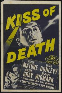 The Kiss of Death - 27 x 40 Movie Poster - Style B