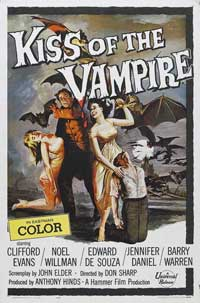 Kiss of the Vampire, The - 11 x 17 Movie Poster - Style A