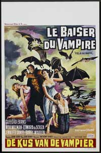 Kiss of the Vampire, The - 30 x 40 Movie Poster UK - Style A