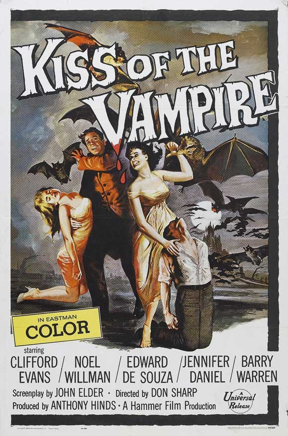 Kiss Of The Vampire The Movie Posters From Movie Poster Shop