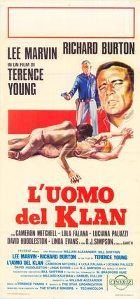 The Klansman - 27 x 40 Movie Poster - Italian Style B