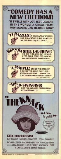 The Knack. . .and How to Get It - 14 x 36 Movie Poster - Insert Style A