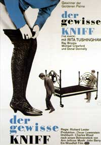 The Knack. . .and How to Get It - 11 x 17 Movie Poster - German Style A