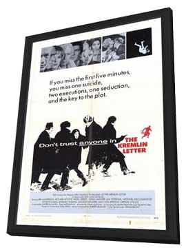 The Kremlin Letter - 11 x 17 Movie Poster - Style A - in Deluxe Wood Frame