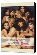 The L Word - 11 x 17 TV Poster - Style A - Museum Wrapped Canvas