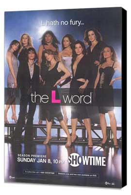 The L Word - 11 x 17 TV Poster - Style L - Museum Wrapped Canvas