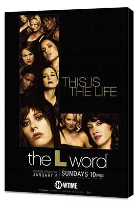 The L Word - 11 x 17 TV Poster - Style N - Museum Wrapped Canvas
