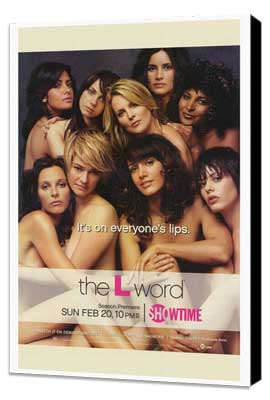 The L Word - 27 x 40 TV Poster - Style A - Museum Wrapped Canvas