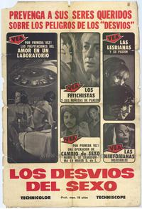 The Labyrinth of Sex - 27 x 40 Movie Poster - Spanish Style A