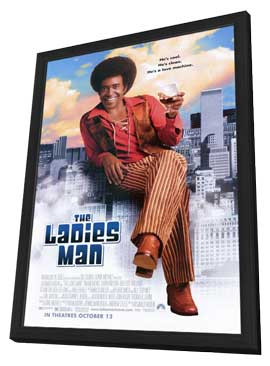 The Ladies Man - 11 x 17 Movie Poster - Style A - in Deluxe Wood Frame