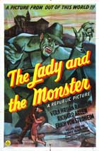 The Lady and the Monster - 27 x 40 Movie Poster - Style C