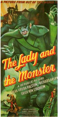 The Lady and the Monster - 11 x 17 Movie Poster - Style A