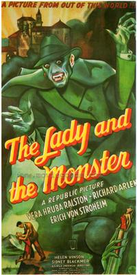 The Lady and the Monster - 43 x 62 Movie Poster - Bus Shelter Style A