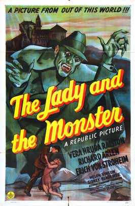 The Lady and the Monster - 11 x 17 Movie Poster - Style C