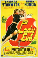 The Lady Eve - 11 x 17 Movie Poster - Style A