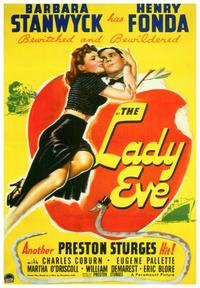 The Lady Eve - 43 x 62 Movie Poster - Bus Shelter Style A