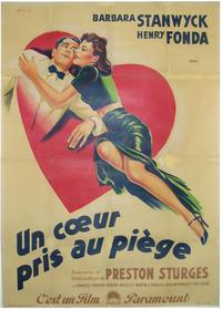 The Lady Eve - 11 x 17 Movie Poster - French Style A