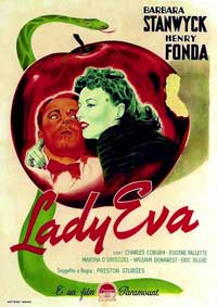 The Lady Eve - 11 x 17 Movie Poster - Style C