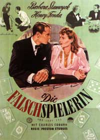 The Lady Eve - 11 x 17 Movie Poster - German Style A