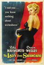 The Lady from Shanghai - 27 x 40 Movie Poster - Style B