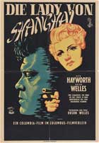 The Lady from Shanghai - 11 x 17 Movie Poster - German Style B