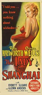 The Lady from Shanghai - 14 x 36 Movie Poster - Insert Style B