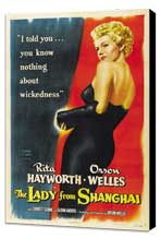 The Lady from Shanghai - 27 x 40 Movie Poster - Style B - Museum Wrapped Canvas