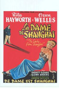 The Lady from Shanghai - 11 x 17 Movie Poster - Belgian Style A