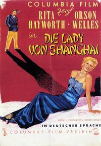 The Lady from Shanghai - 11 x 17 Movie Poster - German Style A