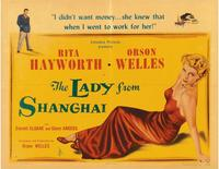 The Lady from Shanghai - 11 x 14 Poster UK Style C