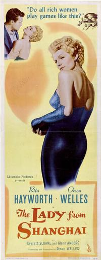The Lady from Shanghai - 14 x 36 Movie Poster - Insert Style A