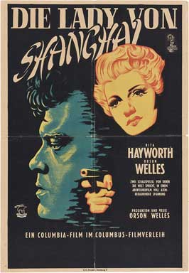 The Lady from Shanghai - 27 x 40 Movie Poster - German Style A