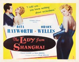 The Lady from Shanghai - 22 x 28 Movie Poster - Half Sheet Style A