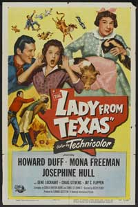 The Lady from Texas - 11 x 17 Movie Poster - Style A