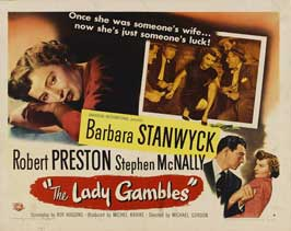 The Lady Gambles - 22 x 28 Movie Poster - Half Sheet Style A